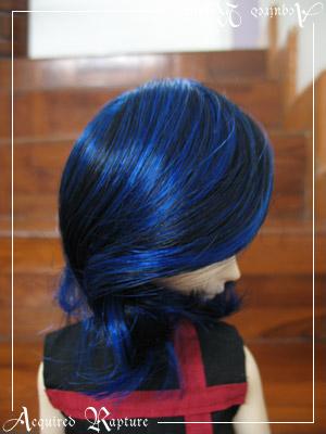 Sharon (7-8) in Blue + Black
