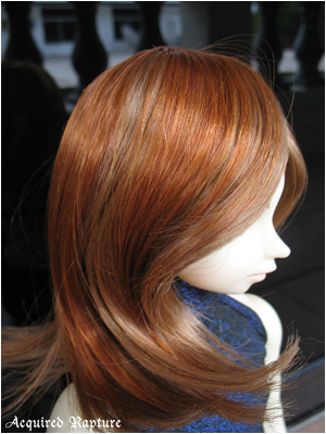 Sharon (9-10) in Red Gold + Strawberry Blonde